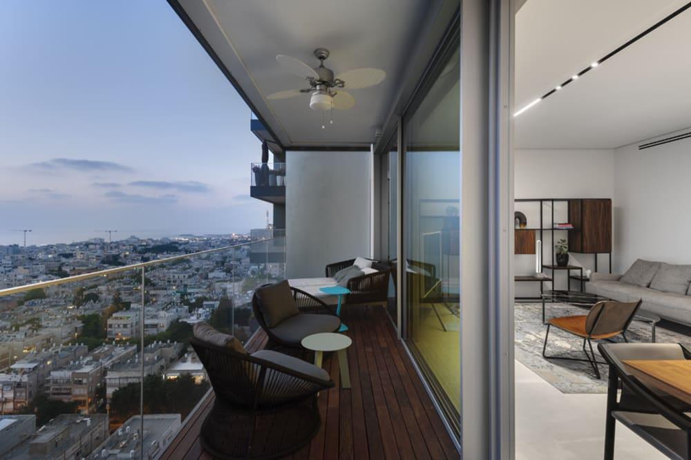 """""""וואלה!עיצוב"""" מפרסם את עיצוב הפנים החדש לדירה יוקרתית בתל אביב"""